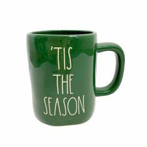 Rae Dunn TIS THE SEASON Coffee Mug Green